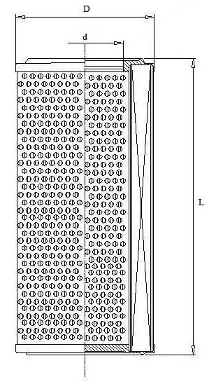Filtro elemento brežinys